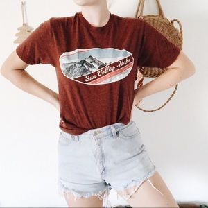 Vintage | Oversized Rust T-Shirt